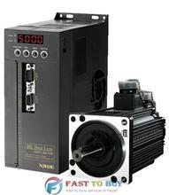 1.5KW xinje Серво Система (Двигатель + Привод) MS-110ST-M04030-21P2 + DS2-21P5-A Новый