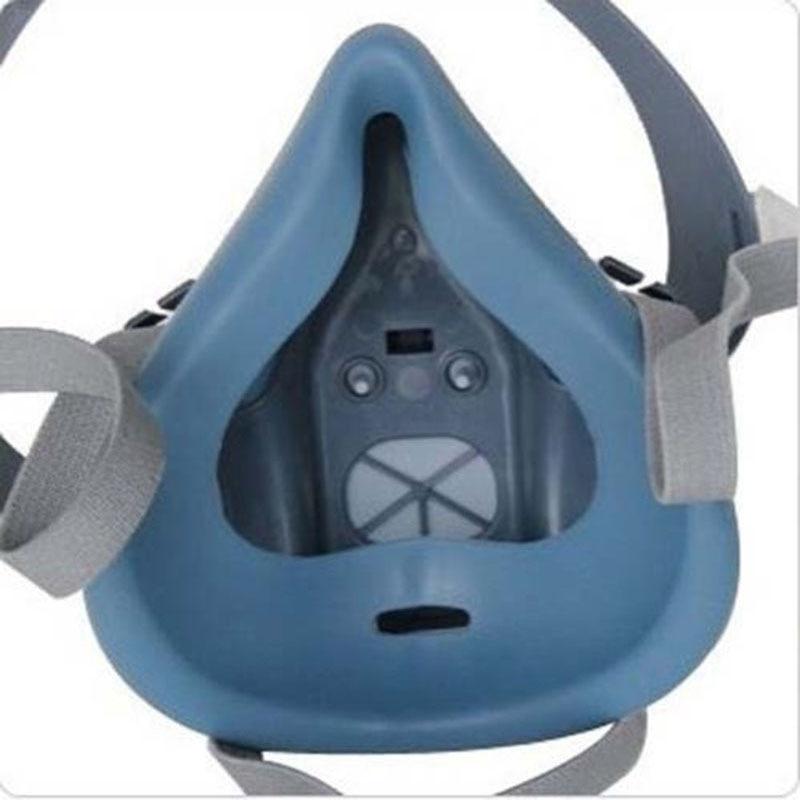 7 в 1 Костюм Спрей Краски респираторные маски для 3M 7502 2091 P100 промышленности респиратор Fliters