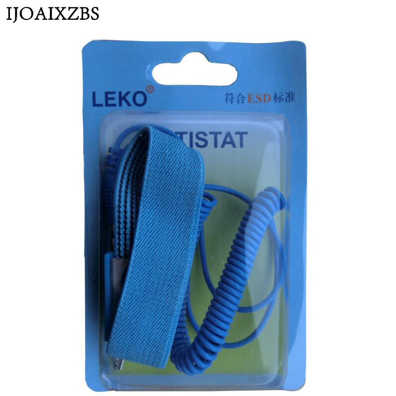 Image 5 - Adjustable Anti Static Bracelet Electrostatic ESD Discharge Cable Reusable Wrist Band Strap Hand With Grounding Wire-in Safety Gloves from Security & Protection