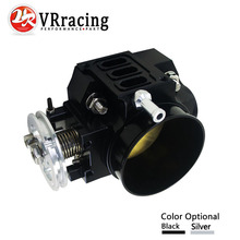 VR RACING NEW THROTTLE BODY FOR RSX DC5 CIVIC SI EP3 K20 K20A 70MM CNC INTAKE
