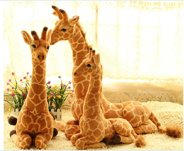 big sitting giraffe toy lovely plush simulation giraffe doll birthday gift about 85x60cm 0186 детские кроватки forest lovely giraffe качалка