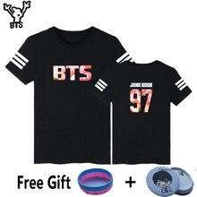 BTS Bangtan Boys Summer Style White T-shirt Women Short Sleeve with Fans TShirt Women Print in High Quality Top Tee
