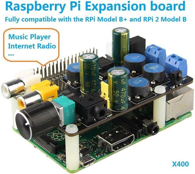 Raspberry Pi 3 model B Raspberry pie 3 X400 multi-function expansion board Raspberry Pi function board (DIY)
