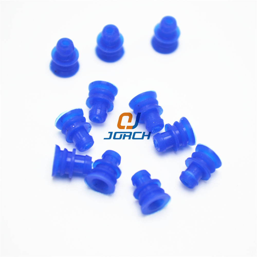 100pcs automotive plug silicone rubber seal super waterproof wire seals for auto connector dummy image for product