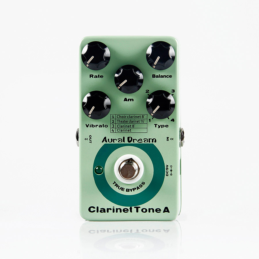 Aural Dream Clarinet Tone A Synthesizer Guitar Effects Pedal True Bypass Effect Pedal Guitar Accessories mooer hustle drive overdrive guitar effects pedal true bypass guitar pedal guitar accessories