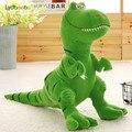 Мультяшный динозавр 40/55/70 см, хобби, мягкая плюшевая детская фигурка, кукла, тираннозавр, животное, мягкая подушка, детский подарок на день ро...