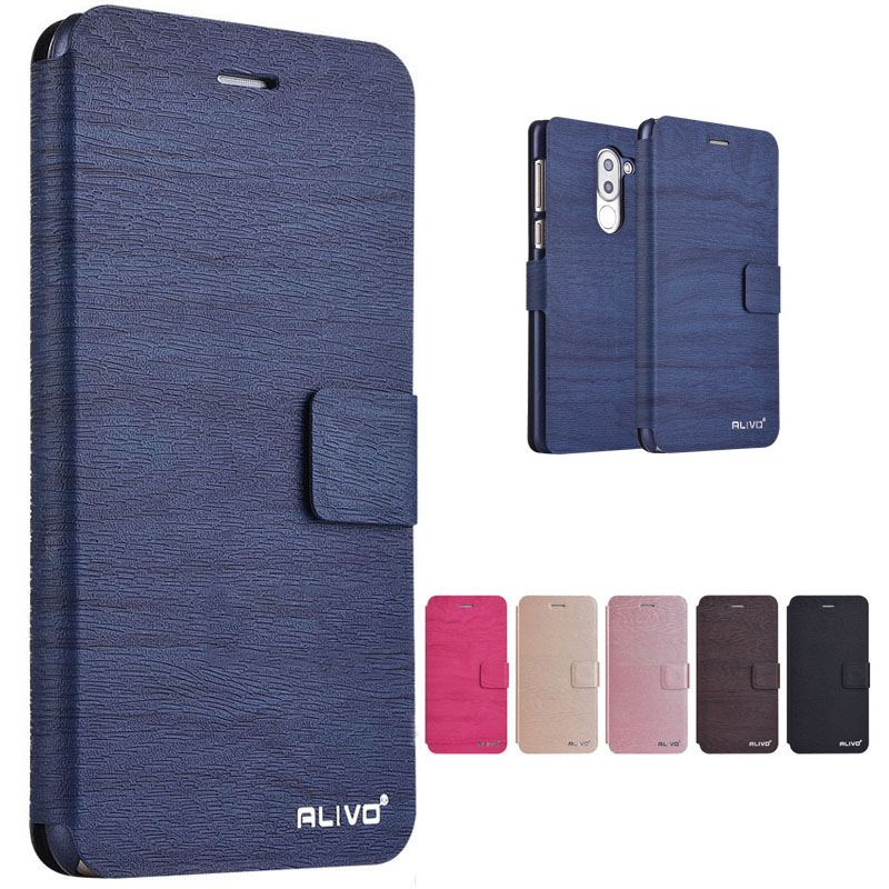 D Honor 6X Case BLL-L21 Wallet PU Leather Case Fundas For Huawei GR5 <font><b>2017</b></font> Case Hard Plastic Back Cover Honor 6 X <font><b>5</b></font>.<font><b>5</b></font>'' GR <font><b>5</b></font> <font><b>2017</b></font> image