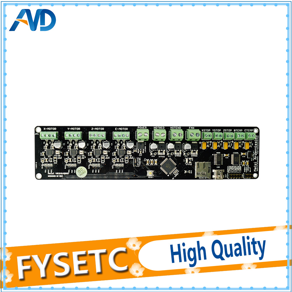 12864LCD + 3D panneau de commande de l'imprimante DIY kit partie tronxy Melzi 2.0 1284 p 3D IMPRIMANTE PCB CONSEIL IC ATMEGA1284P accessoires - 4
