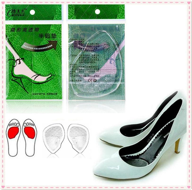 1 Paar Gel Vorfuß Silikon Schuh Pad Einlagen Hohe Ferse Elastische Kissen Silikon Orthesen Arch Support Pads Nicht Slip Einsätze