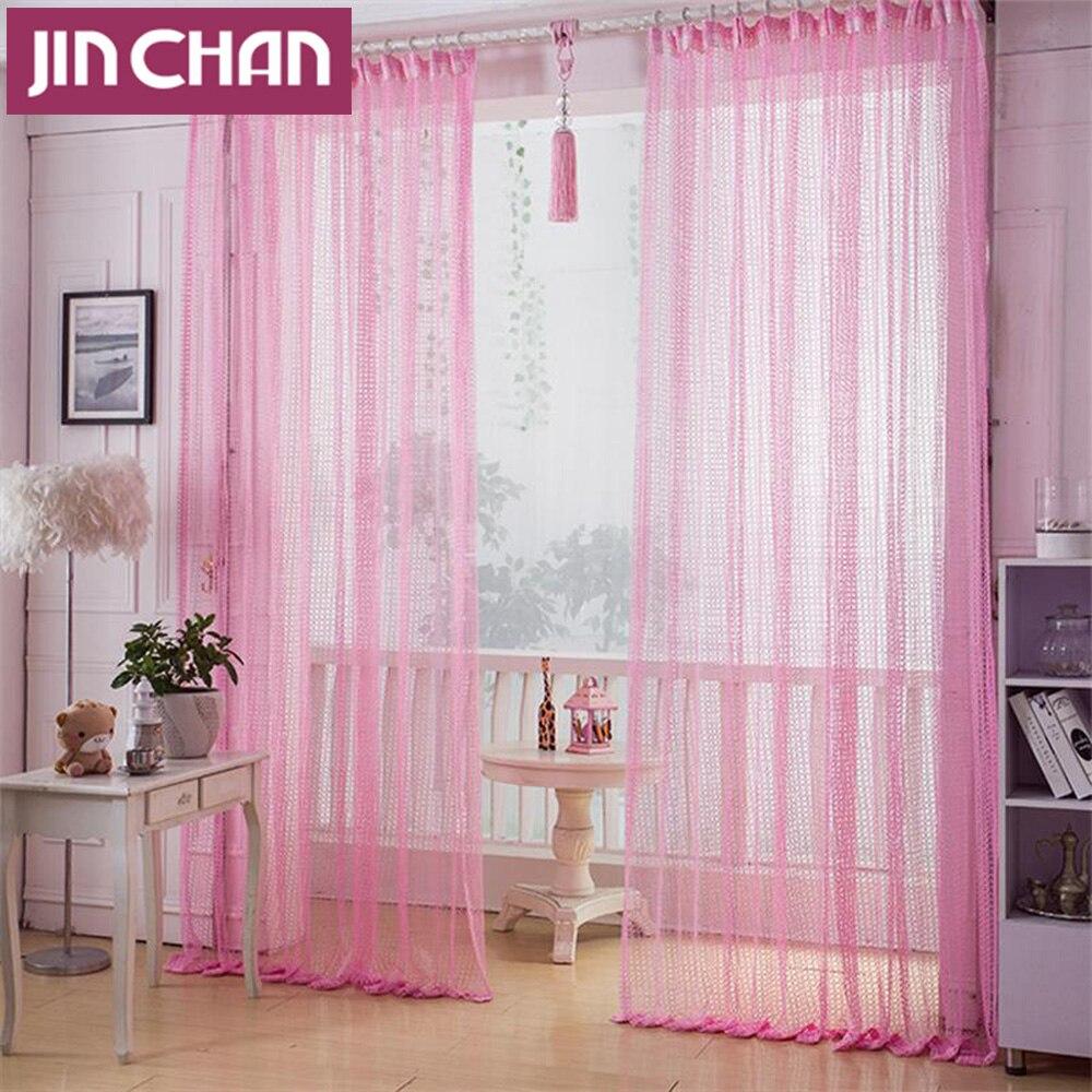 Online kaufen großhandel rosa vorhänge für mädchen ...