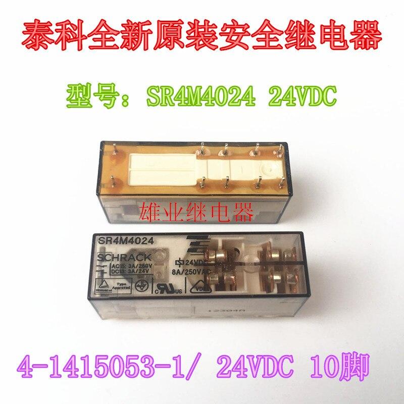 SR4M4024 24VDC  4-1415053-1/ RelaySR4M4024 24VDC  4-1415053-1/ Relay