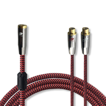 Audio Cable Mini Jack 3.5mm Female to Dual RCA Female TV Speaker PC Headphone RCA 1/8″ Cable OFC 10M 12M 15M