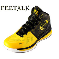 Feetalk Children Basketball Shoes Outdoor Kids Sneakers Shockproof Breathable Boys Girls Sport Shoes Running Shoes Shop