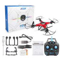 Fashion Rc Helicopter JJRC H5M 2 4G 4CH 6 Axis Gyro RC Quadcopter Music Play Drone