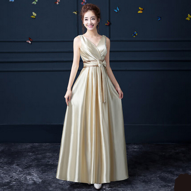 dress v neck women long woman formal ladies latest evening gown ...