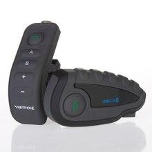 bt interphone motorcycle bluetooth interphone Bluetooth Intercom FM Raido 5 Riders interphones Talk 1000M Good quality