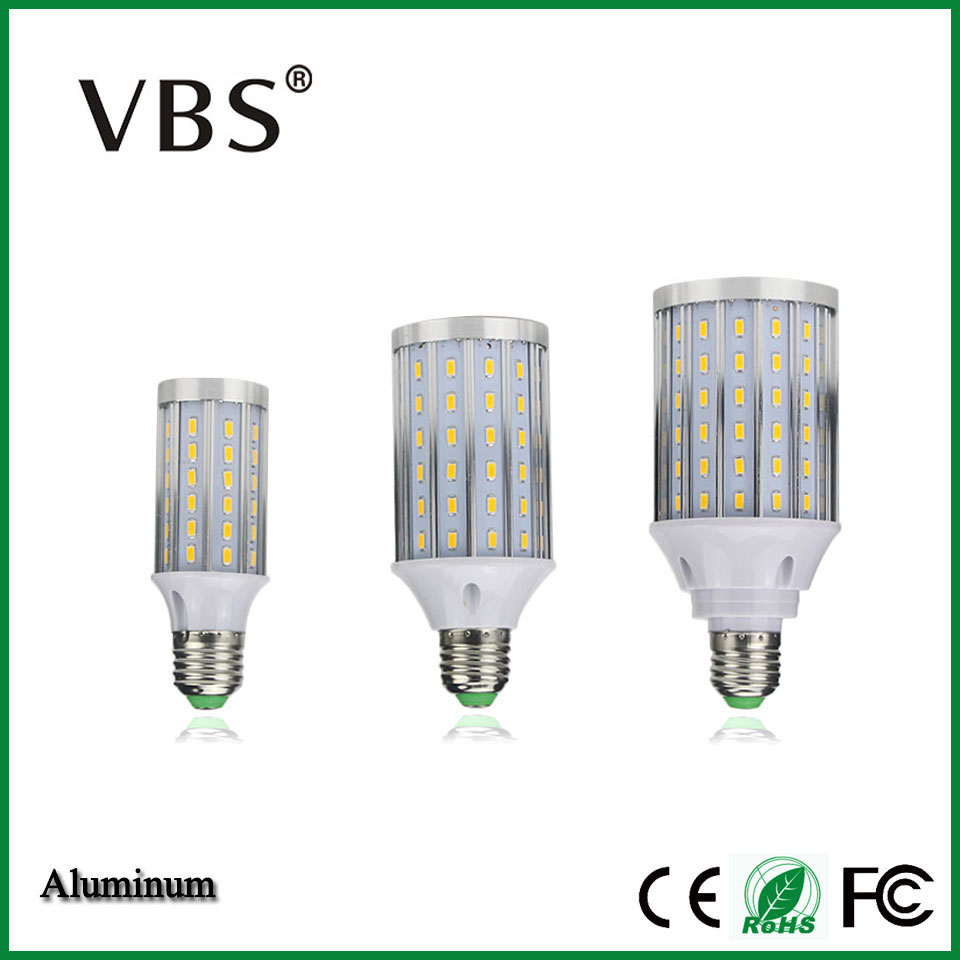 Upgrade Design LED Corn Bulb E27 AC85-265V No Ficker Long lifespan LED Spotlight 360 Degree LED Light Bulb SMD5730