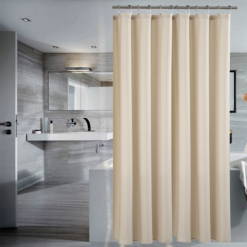 12 color Solid Shower Curtains For Bathroom Polyester Waterproof ...