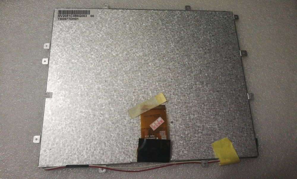9.7 inch TM097TDH01 cable number TM097TFH01 50pin liquid crystal display screen тепловентилятор timberk tfh f15tda