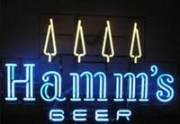 Personalizado Hamms Bar Cerveja Sinal da Luz de Néon de Vidro|Lâmpadas de néon e tubos| |  -