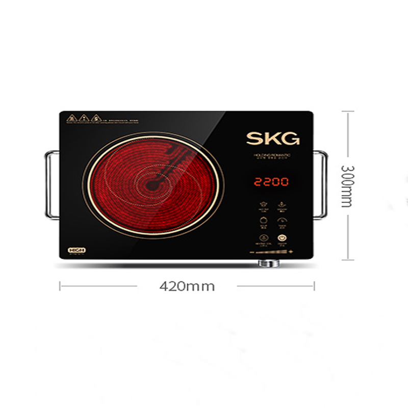 induction cooker electric cooker cooking tea stove home smart induction cooker light wave oven desktop stir - fried SKG1601