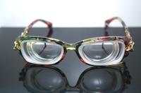 CUSTOM MADE AVAILABLE Fashion women lady girl high myopic myopia myodisc high strength nearsight glasses -16D PD62