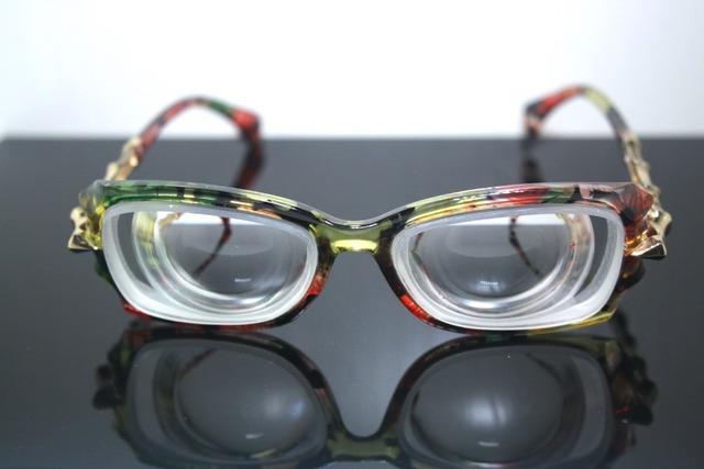 Custom MADE disponível moda feminina senhora menina alta miopia míope myodisc de alta resistência óculos nearsight - 16D PD62