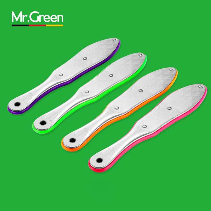 MR.GREEN1 PcsHighGrade Rostfritt stål Foot Rasp Callus 23cm Död Skin Remover Fil Exfoliating Pedicure Foot File Foot CareTool