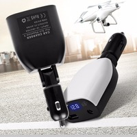 5V 2A 17 4V 6A Output Voltmeter Car Charger For DJI Phantom 4 Pro Advanced IPhone