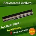 Jigu 6 celdas de batería portátil para asus k52j k52f k52n a52 a52j k42 k42f k52f k52j a31-k52 a32-k52 a41-k52 a42-k52