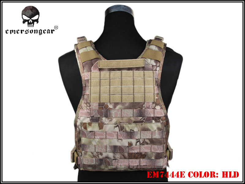 ФОТО Emerson 500D Molle RRV Vest Back Panel Paintball Wargame Army Combat Gear Plate Carrier Hunting Vest Accessories EM7444 HLD ^