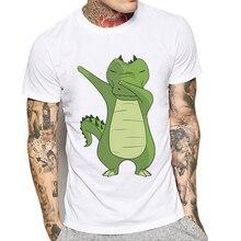 Limited Time Discount Men T-Shirt Mens Cotton Shirt lizard Crocodile Man Shirts High Quality Short Sleeve Tee Playeras De Hombre