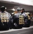 """Абсолютно Высокое Качество Пабло Куртка Kanye West Мужчины Женщины Толстовка Ввс Военных Пальто HBA Бренд Clothing Дворец Куртка """"Пилот"""""""