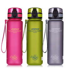 YIBO 1Pcs Sport Bottle Outdoor Portable Large Capacity Leakproof Sports Cup Student Small Caliber Direct Drinking Kettle