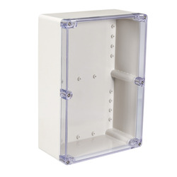Uxcell 200x120x56mm Wateproof Electronic  Junction Project Box ABS Plastic DIY Enclosure Case Outdoor/Indoor Boxes 158x90x60mm