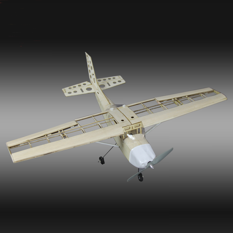 RC Plane Laser Cut Balsa Wood Airplane  Kit New Cessna-172 Frame without Cover Wingspan 1000mm Free Shipping Model Building Kit free shipping rc airplane cessna 182 810mm small cessna remote control air plane model epo hobby airplanes frame kit aeromodel