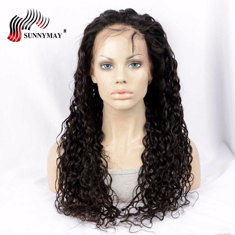 Sunnymay Exotic Wave Full Lace Mänskliga Hårparykar Natural Color - Mänskligt hår (svart) - Foto 3