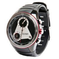 Ezon 시계 h603 다기능 야외 등산 산 나침반 고도 등산 산 방수 군사 육군 손목 시계