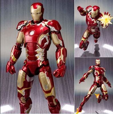 Avengers Iron Man 2 SHF MK43 superalloy joint iron man can do hands-on Decoration man kung mk cb50
