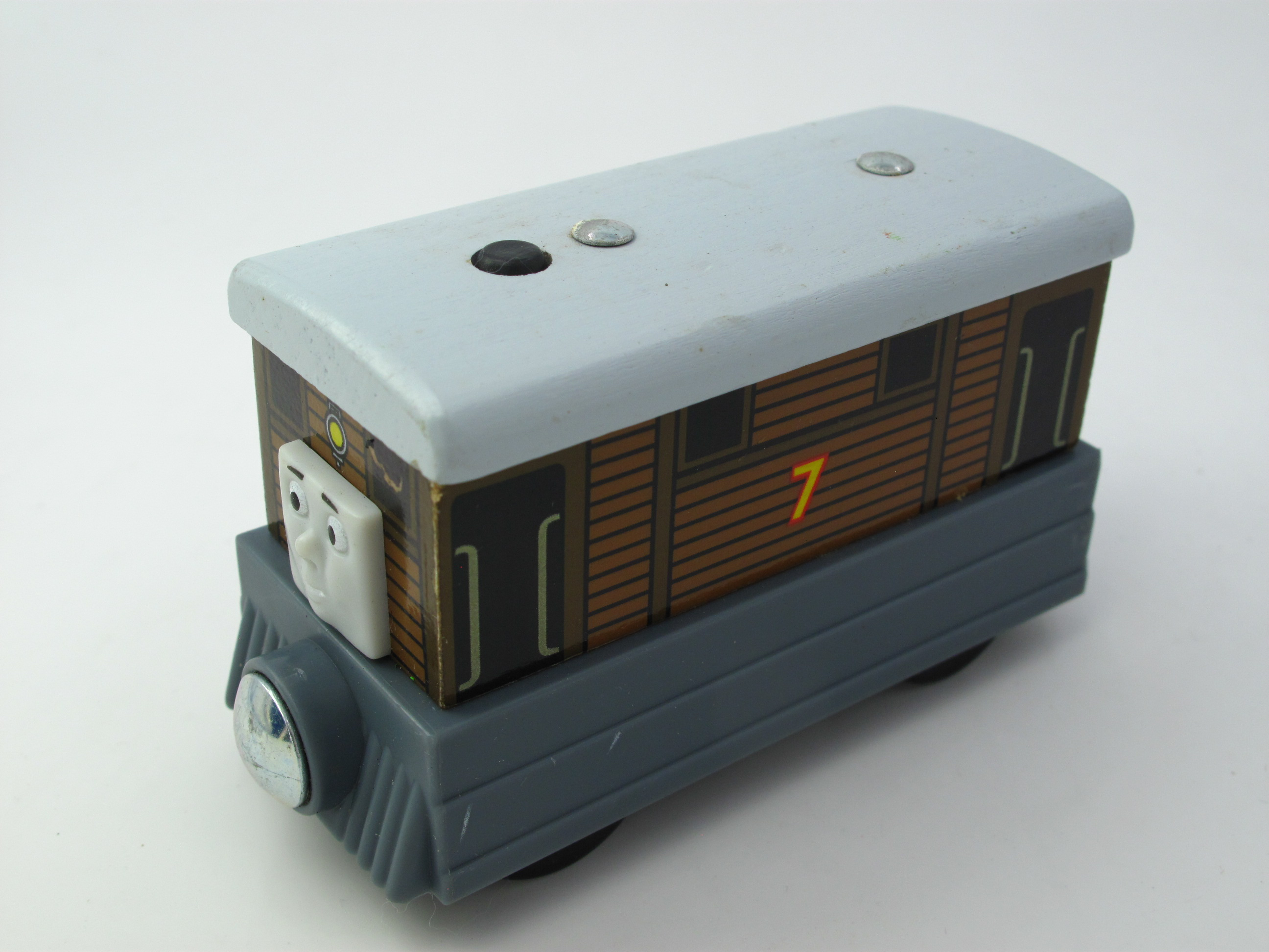 Wooden Thomas Train T134W TOBY Thomas And Friends Trackmaster Magnetic Tomas Truck Car Locomotive Engine Railway Toys for Boys