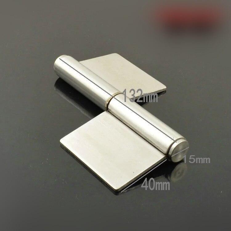 Stainless steel flag no hole hinge Fire door hinge hq 125mm long stainless steel flag hinge lift off hinge door hinge