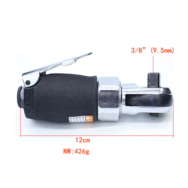 """Free Shipping Quality 3/8"""" Mini Pneumatic Ratchet Wrench Tool Light Air Wrench Tool"""