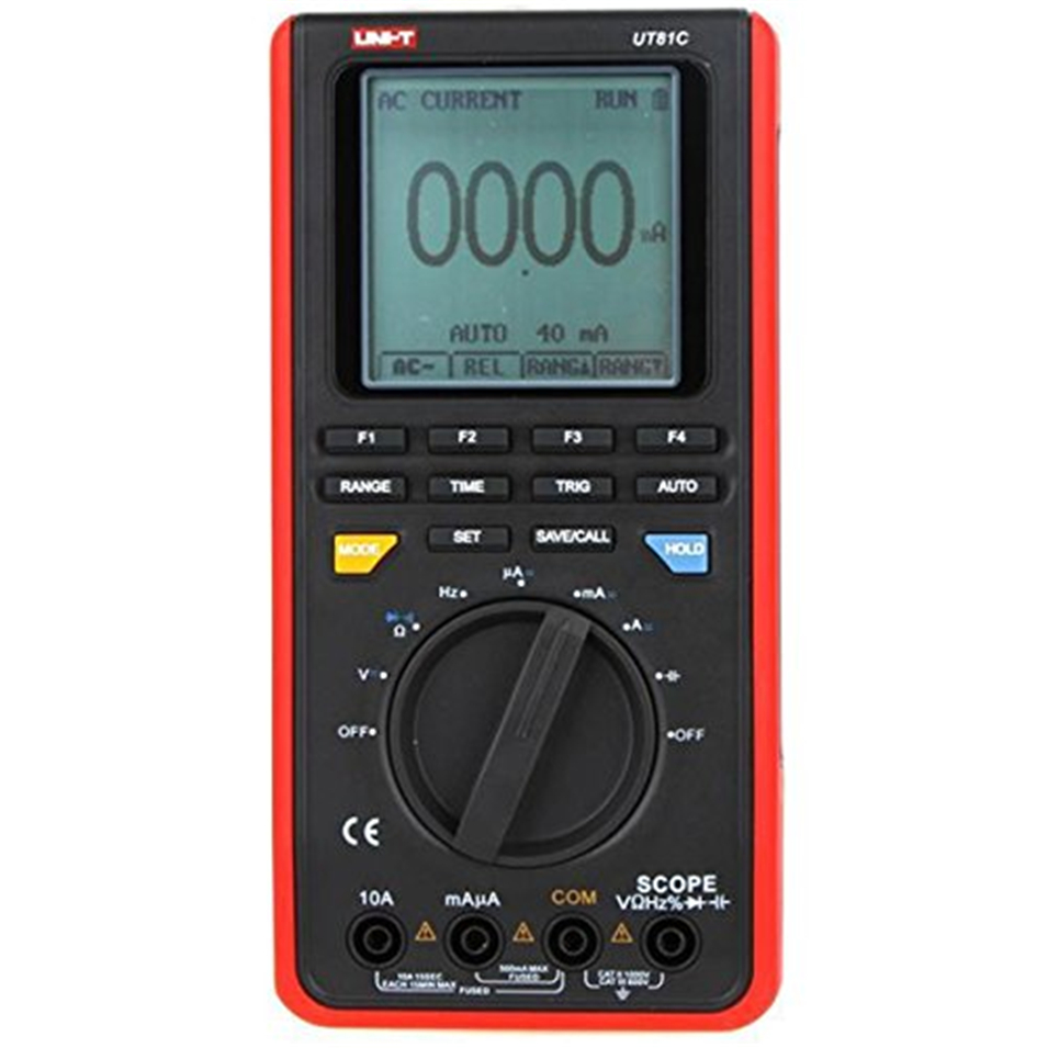Uni T Ut81b Digital Multimeters Handheld Multimeter W Usb Lcd Oscilloscope 2017 New Wave Scopemeter With Interface