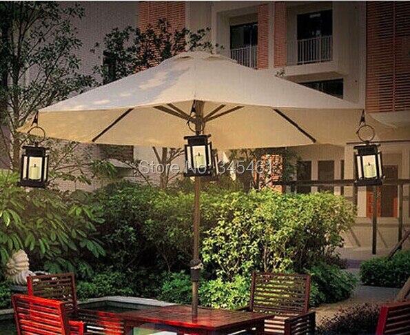 x energa solar al aire libre patio jardn decoracin brilla amarillo led luz de las velas