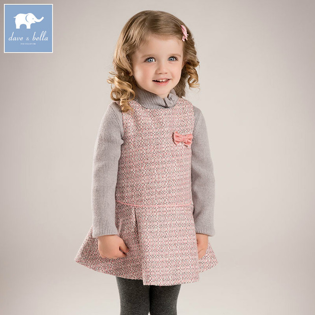 7617478a3 DB5493 dave bella autumn princess baby girls fashion dress party birthday  clothes children infant toddler clothes