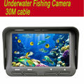 30m Underwater Fish cameras Finder Sea Real-time Live Underwater Ice Video Fishfinder Fishing Camera IR Night Vision 4.3 screen