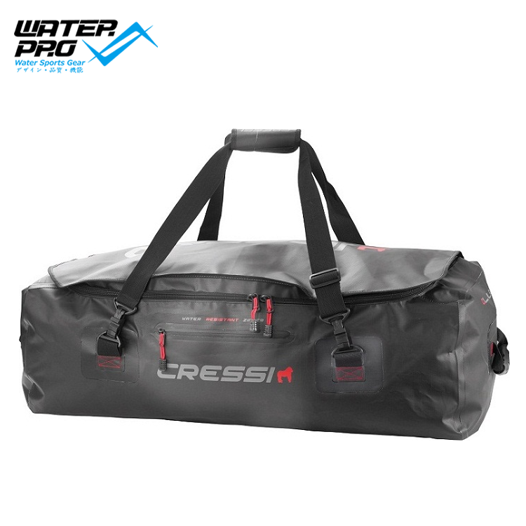 CRESSI GORILLA PRO XL 135L Diving Fins Bag For Transporting Long Fins And Bulky Equipment