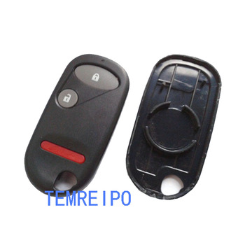 2+1 button Remote Car Key Shell Cover For Honda with battery place image