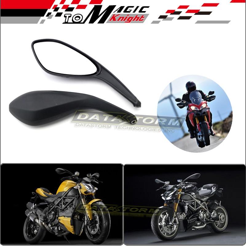 Para ducati monster 695 696 796 1100/s/evo motocicleta accesorios traseros espej