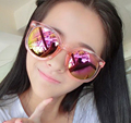 OUTEYE summer transparent fashion eye glasses women sunglasses vintage sun glasses oculos de sol feminino brand mirror Uv400 W1